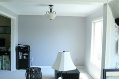 "like the paint color...""gentle rain"" by behr"