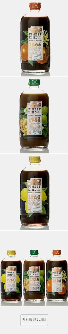 Tea packaging by Scoutmob Shoppe