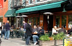 Bar Pitti-Cool Italian restaurant serving very good Tuscan fare at attractive prices.  Casual, hip vibe.  Good value. Greenwich village