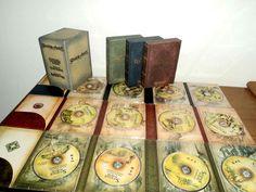 Minha Precious coleção chegou: Trilogia O Senhor dos Anéis versão estendida com 12 DVDs (Edição de Cinema). 2h a mais de filme. FELIZZZ