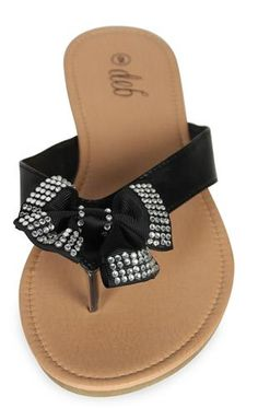 adorable bow sandals
