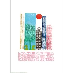 Haiku by Paul Peter Piech (Giclee Print)||EVAEX