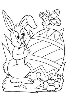 20 Printable Easter-Themed Coloring Pages for Kids | Easter ...
