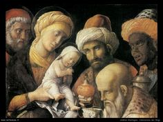 Mantegna, Andrea storia sei re magi
