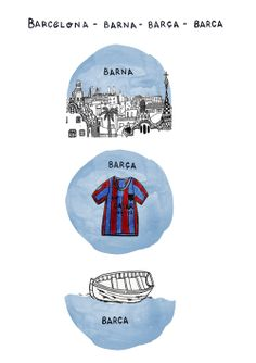 We understand that the Spanish language has some tricky parts but this is a key way to avoid the guiri tag and act like a local. Now you wont be confused anymore! Barna: abbreviation for Barcelona. Used mostly by local people  Barça: in catalan language means the FC Barcelona  Barca: means small boat