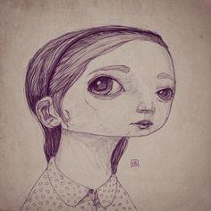 Girl with hairband