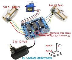 How to Make Mini CNC Router Drawing by Arduino and Shield You are in the right place about anthropologie DIY Hacks Here we offer you the most beautiful pictures about the DIY Hacks decor you are Arduino Cnc, Diy Cnc Router, Arduino Programming, Cnc Woodworking, Shield Arduino, Arduino Stepper, Woodworking Projects, Simple Arduino Projects, Cnc Projects