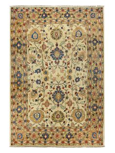 """Mehraban Hand-Knotted Rug (7'6""""x10'9"""") by Bashian Rugs at Gilt"""