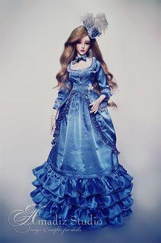 roccoco by Amadiz Pretty Dolls, Beautiful Dolls, Barbie Clothes, Barbie Outfits, Smart Doll, Renaissance Fashion, Barbie Collection, Beauty Photos, Ooak Dolls