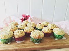 cookingbakery | Zitronen-Mohn-Muffins Mini Cupcakes, Muffins, Desserts, Poppy, Healthy Food, Dessert Ideas, Baking, Food Food, Tailgate Desserts