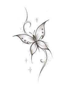 I have this butterfly on my neck :)
