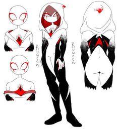 Classy Cobalt by Taii-of-Kaon on DeviantArt Deadpool X Spiderman, Spiderman Spider, Spider Art, Spider Verse, Marvel Art, Marvel Heroes, Character Design Inspiration, Anime Art Girl, Art Reference
