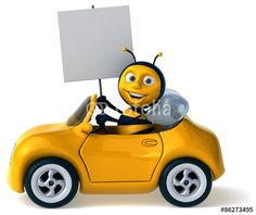 Fun bee driving