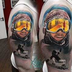 Snowboarding tattoo by @sanektattoo at @odin_tattoostudio in St. Petersburg Russia #sanektattoo #alexmoro #alexmorotattoo #odin_tattoostudio #odintattoostudio #stpetersburg #saintpetersburg #russia #snowboarding #snowboard #snowboardingtattoo #snowboardtattoo #tattoo #tattoos #tattoosnob