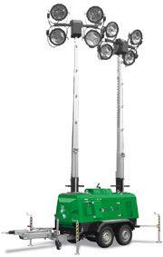 DB-9  Deltarent is het enige Europese verhuurbedrijf dat drie Tower Light DB9 lichttorens in de huurvloot heeft.