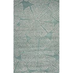 Handmade Tribal Blue Area Rug (8' X 11')