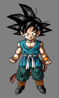 Kid Goku GT by hsvhrt on DeviantArt Dragon Z, Dragon Ball Gt, Tattoos For Baby Boy, Avengers Cartoon, Goku Wallpaper, Kid Goku, Dragon Ball Image, Anime Character Drawing, Animes Wallpapers