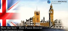 Hire the best – Hire Fusco Browne For rapid immigration services