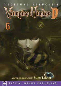 Hideyuki Kikuchi's Vampire Hunter D Vol. 6 (manga) by Hideyuki Kikuchi Kikuchi