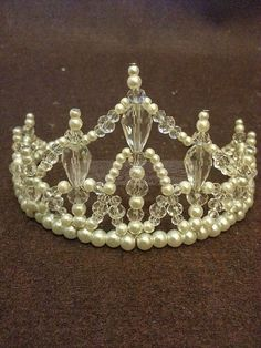 handmade+wire+tiara | Crystal crown are very popular in weddings! Every woman wants to be a ...