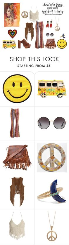 """""""70's  Style"""" by destinystarr772 ❤ liked on Polyvore featuring Fashionomics, Dolce&Gabbana, Quarto Publishing, Laggo, W118 by Walter Baker, Andrea Fohrman, Sans Souci and Candela"""