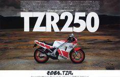 TZR250(1KT/2XV)の系譜 Retro Bike, Mini Bike, Cars And Motorcycles, Yamaha, Honda, Racing, Japanese, Products, Motorbikes