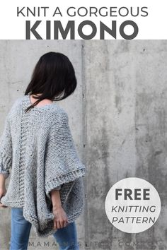 Easy Knitting, Knitting Stitches, Knitting Designs, Knitting Patterns Free, Knit Patterns, Free Pattern, Easy Patterns, Easy Crochet Projects, Knitting Projects