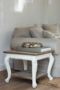 I have these table...going to refinish like this!