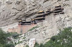 Hanging Temple - Wikipedia, the free encyclopedia China