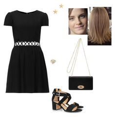 """""""Untitled #8629"""" by gracebeckett on Polyvore featuring Topshop, Gianvito Rossi, Mulberry, Kendra Scott and J.Crew"""