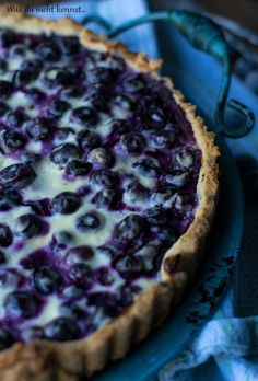 Finnish blueberry pie - what you don& know .- Finnischer Blaubeerkuchen – Was du nicht kennst… Finnish blueberry pie - Blueberry Cake, Blueberry Recipes, Blueberry Breakfast, Tart Recipes, Baking Recipes, Cookie Recipes, Savoury Cake, Ice Cream Recipes, Clean Eating Snacks