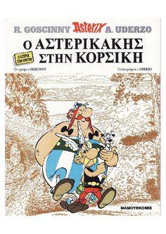 Boek: Asterix in Korsika Julius Caesar, Asterix E Obelix, Albert Uderzo, Comics Und Cartoons, Lectures, Afrikaans, Comic Covers, Peanuts Comics, Roman