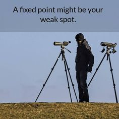 """""""A fixed point might be your weak spot.""""  Having one way to handle a problem often means that you change how you view the problem so that your one approach looks like it is dealing with it rather than solving the problem by adopting a new approach which does solve it. Develop the skills you need to handle anything that is thrown at you.  #entrepreneurship #entrepreneur #startups #techbusiness #firsttimeentrepreneur #idea #motivation #inspiration #quoteoftheday #business #software…"""