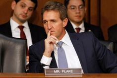 Sen. Jeff Flake, R-Ariz., alienates many of his constituents by going against the grain on many issues held dear by conservatives — seeking reform on immigration, wavering on the Iran nuclear deal — and following in the tradition of fiercely independent politicians like Arizona's Barry Goldwater.