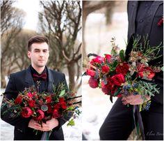 Свадьба в оттенках черного и марсала (Евгения и Кирилл)