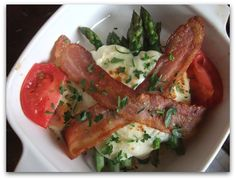 Asparagus Hot Brown