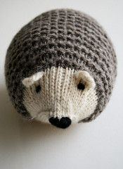 Make your own adorable Knit Hedgehog! Knit in one piece without a lick of sewing or even grafting, these sweet little hedgies are super fun to make and even more fun to cuddle!