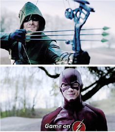 #Arrow #TheFlash So excited!!