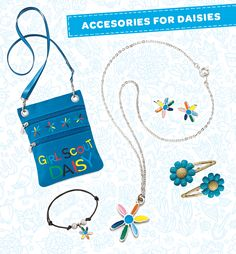 Check out the newest accessories to keep your Daisy stylin'