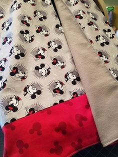 Mickey and Minnie Car Seat Canopy