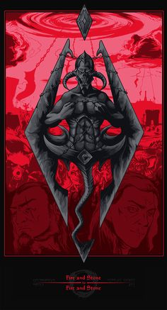 TES art,The Elder Scrolls,фэндомы,TESO,Молаг Бал,Лорды Даэдра,TES…