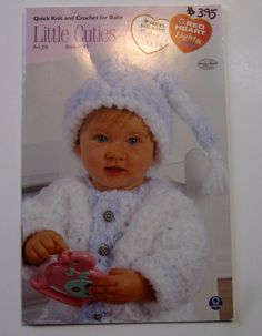 Crochet Knit Patterns for Baby Booklet by NormaSuppliesandKits, $3.95