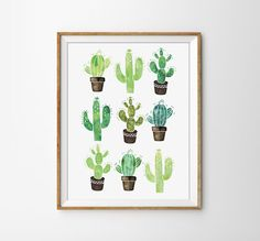 Cactus Print, Succulent Poster, Watercolor Cactus, Modern office Print, Watercolor Poster, Nature Print, Bedroom Poster, Flower Print by SamsSimpleDecor on Etsy https://www.etsy.com/listing/242476559/cactus-print-succulent-poster-watercolor