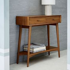 Shop mid century console from west elm. Find a wide selection of furniture and decor options that will suit your tastes, including a variety of mid century console. 60s Furniture, Mid Century Furniture, Rustic Furniture, Furniture Design, Entryway Furniture, Cheap Furniture, Contemporary Furniture, Furniture Ideas, Furniture Removal