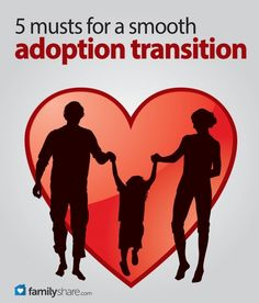 The decision to adopt is the decision to open your heart, your home and your family. These five tips can help you make this transition smooth.
