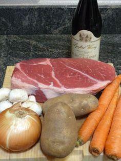 Dutch Oven Pot Roast Recipe for hubby Dutch Oven Pot Roast, Easy Pot Roast, Dutch Oven Cooking, Dutch Oven Recipes, Fire Cooking, Pot Roast Recipes, Cast Iron Cooking, Beef Recipes, Real Food Recipes