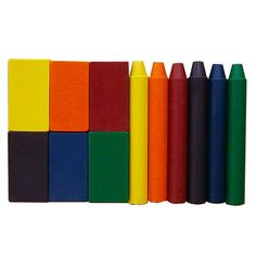 NEW Filana Organic Beeswax Crayons. Contain NO paraffin or petroleum products. All natural oils and waxes including organic beeswax, allow crayons glide effortlessly on paper. From Bella Luna Toys. $19.95