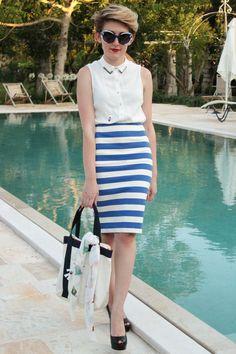 Fashion-à-porter: Metti alla prova il tuo stile Navy Chic!    Scopri la collezione Navy Chic su www.bechic.it
