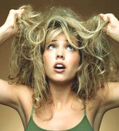She Made a Resolution (for DIY) - home remedies for dry hair.