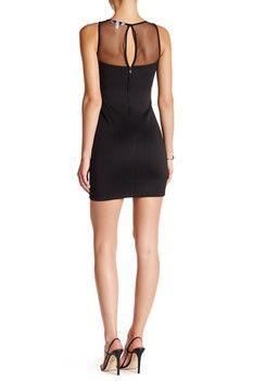 Speechless Metallic Cutout Mini Dress (Juniors) Get Skinny 24d720808